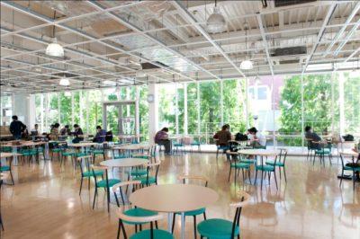 千葉経済大学の学生ホール