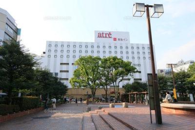 JR大森駅の東口駅前広場