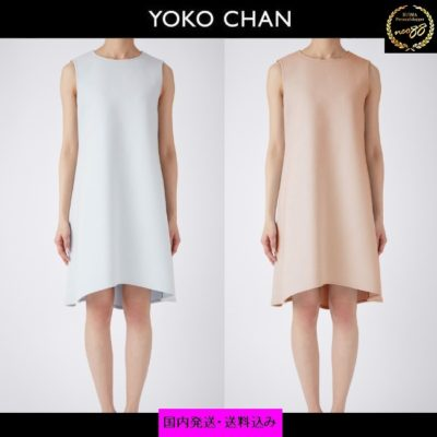 YOKO CHANのBack Pearl Dress ノースリーブ