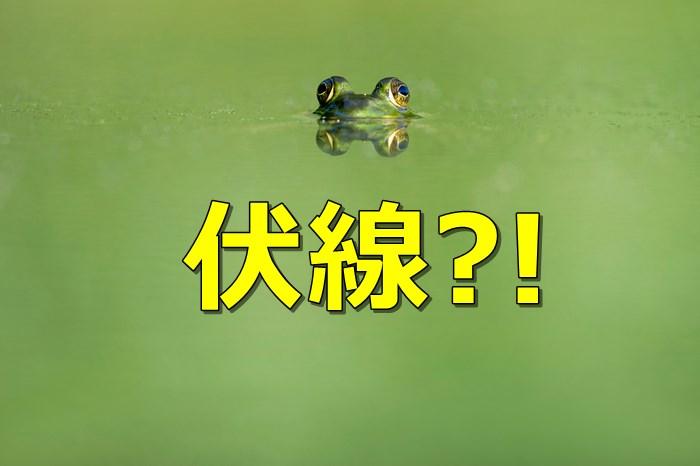 カエル_伏線